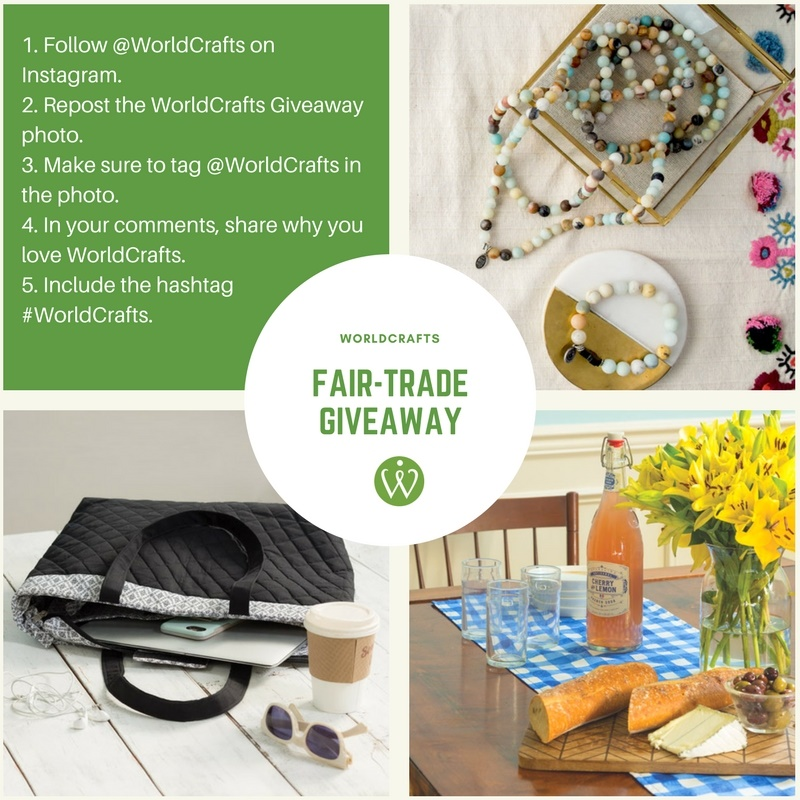 WorldCrafts Fair-Trade Giveaway