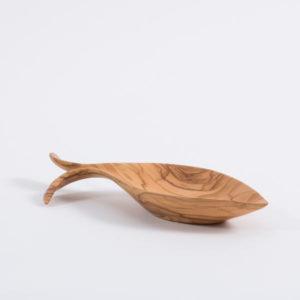 Olive Wood Fish Dish