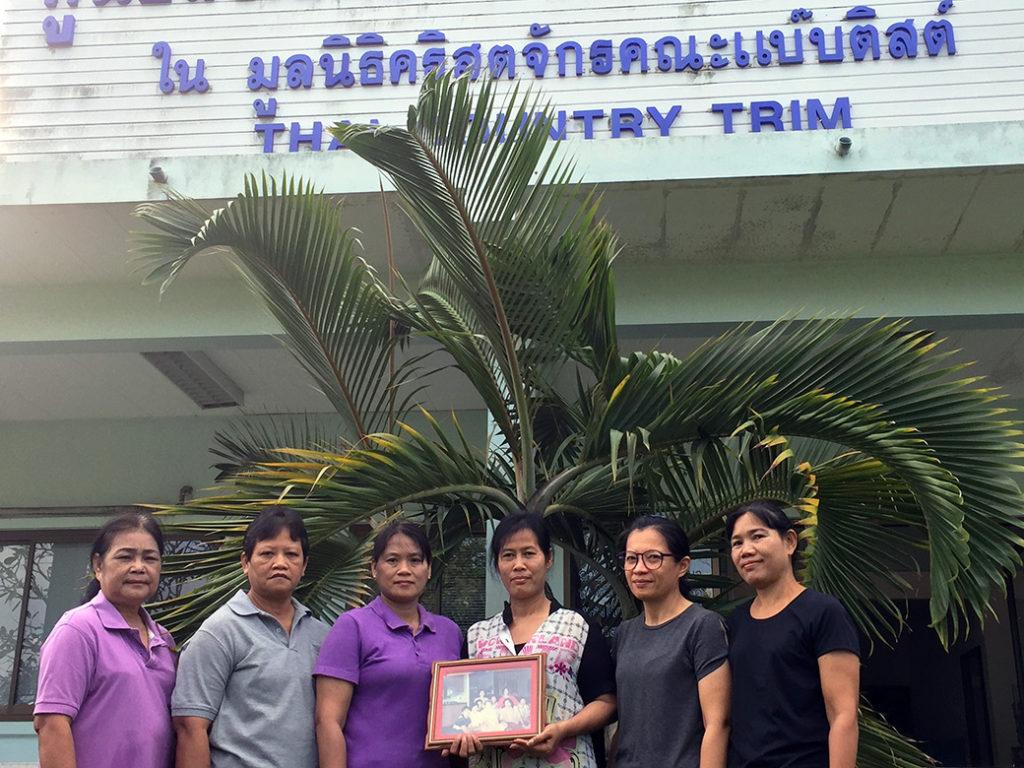 The original Thai Country Trim artisans.