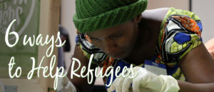 Ways to Help Refugees